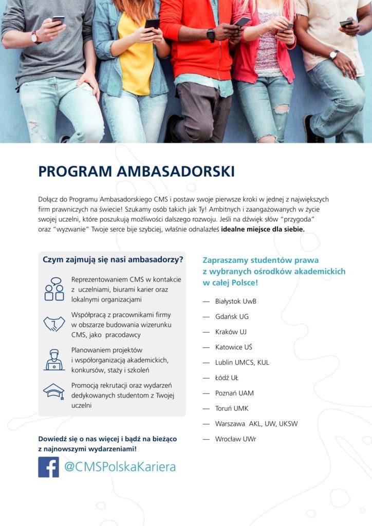 Broszura Ambasador 2018-2